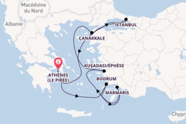 Marmaris, depuis Athènes (Le Pirée) à bord du bateau Azamara Pursuit