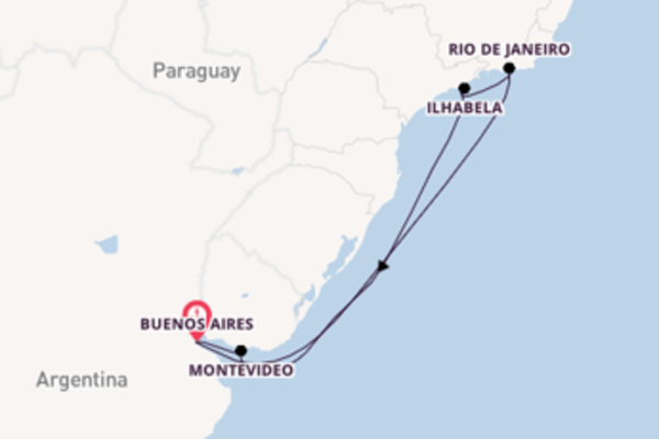Lasciati incantare da Rio de Janeiro partendo da Buenos Aires