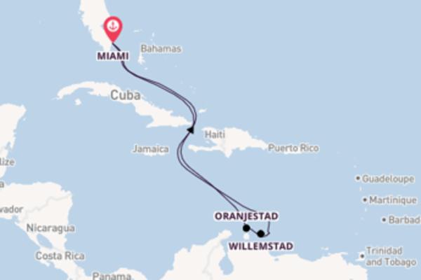 Geniet van een 9-daagse cruise naar Miami