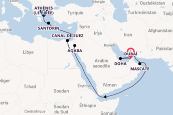 18 jours pour découvrir Haïfa au départ de Dubaï