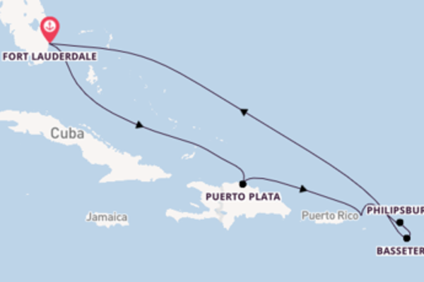 Favoloso viaggio di 9 giorni a bordo di Allure of the Seas