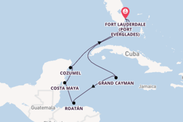 8 day cruise from Fort Lauderdale (Port Everglades)