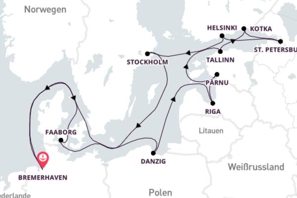 Über Pfingsten ins schöne Baltikum