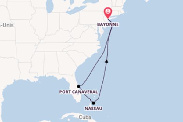 Port Canaveral et une étonnante croisière depuis Bayonne
