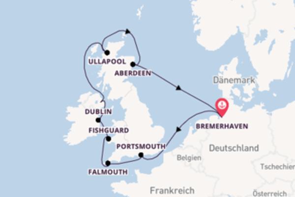 9 Tage unterwegs mit der MS Deutschland