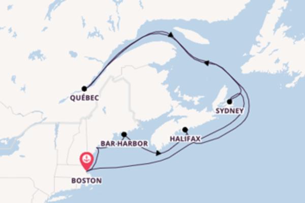 Geniet van het magnifieke Halifax met Celebrity Cruises