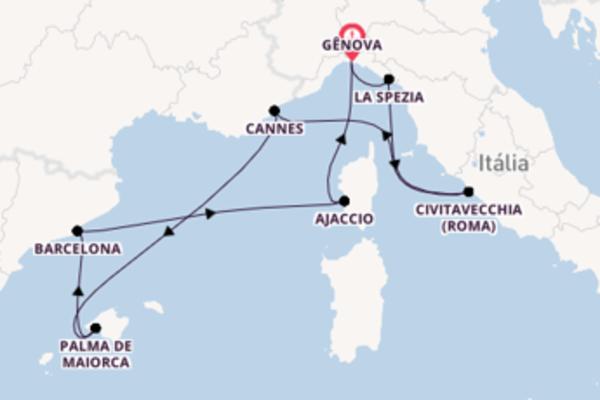 Navegue a bordo do MSC Seaview em 8 dias