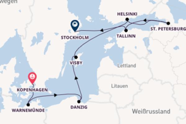 Kopenhagen und Tallinn genießen