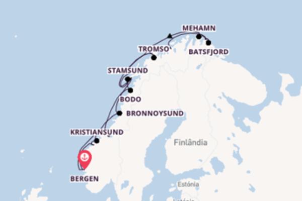 Fascinante viagem com a Hurtigruten
