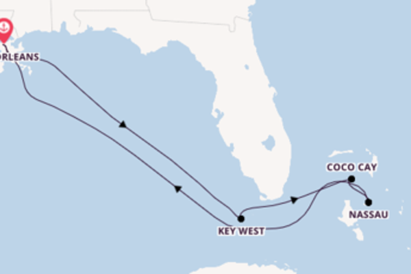 Cruise with Royal Caribbean from New Orleans