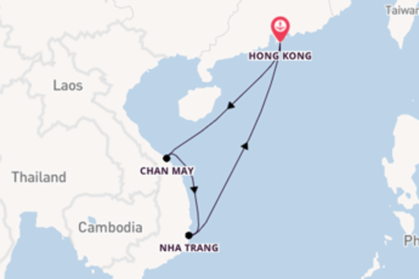 Expedition from Hong Kong with the Spectrum of the Seas