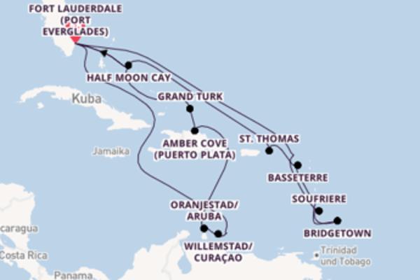 Traumhafte Reise nach Fort Lauderdale (Port Everglades)