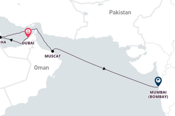 Delightful Mumbai from Dubai 10-Day Trip