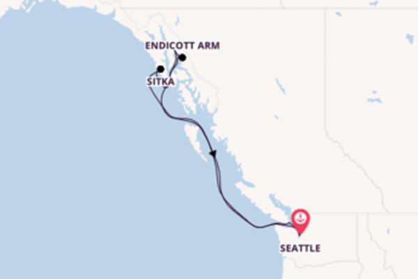 Kreuzfahrt mit der Quantum of the Seas nach Seattle