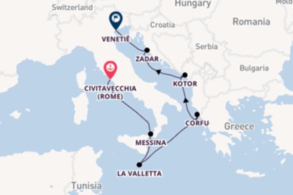 Cruise met Celebrity Cruises naar het fenomenale Venetië