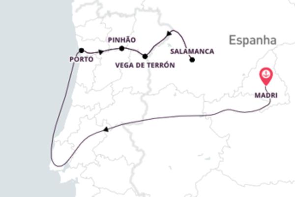 Madrid e os encantos do Rio Douro
