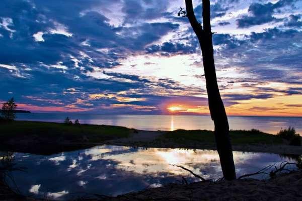 Озеро Гурон, США