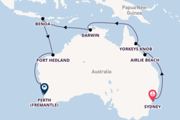 Trip with Royal Caribbean from Sydney