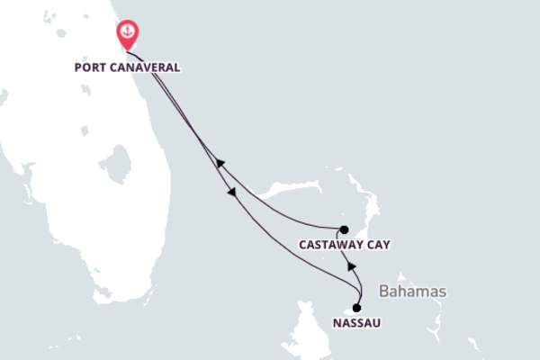 Visit Spectacular Nassau from Port Canaveral