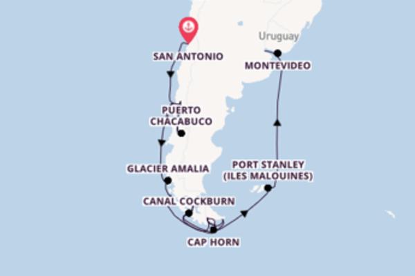 Authentique croisière avec Holland America Line pendant 21 jours