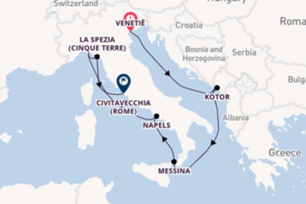 Maak een droomcruise naar La Spezia