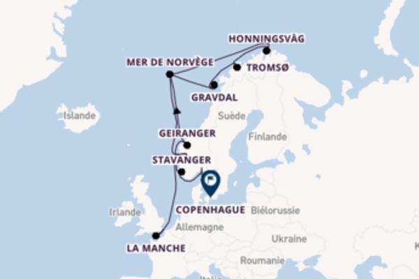 Croisière de 15 jours depuis Londres/Douvres avec Crystal Cruises