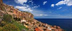 Peloponnese trifft auf das Ionische Meer
