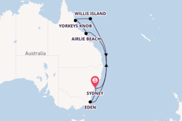 Expedition with Celebrity Cruises from Sydney