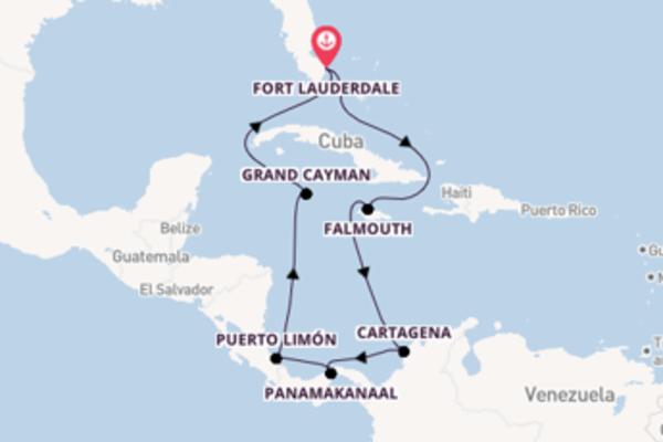 Cruise in 11 dagen naar Fort Lauderdale met Princess Cruises