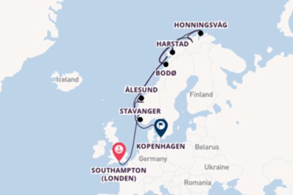 Cruise in 18 dagen naar Kopenhagen met Azamara Club Cruises
