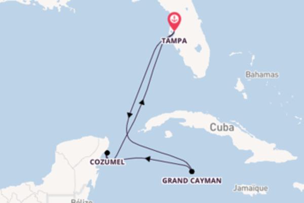Grand Cayman depuis Tampa pour une croisière de 6 jours