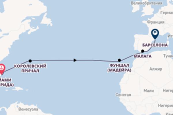 Невероятное путешествие на 15 дней с Regent Seven Seas Cruises