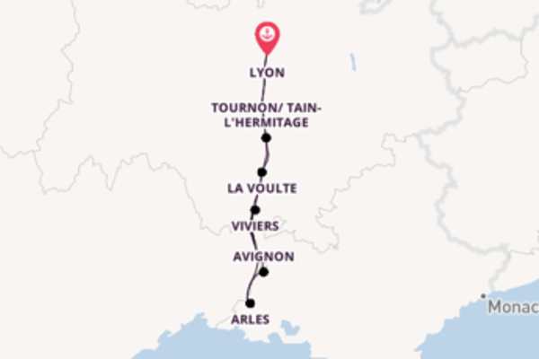 Südfrankreich auf der Rhône genießen