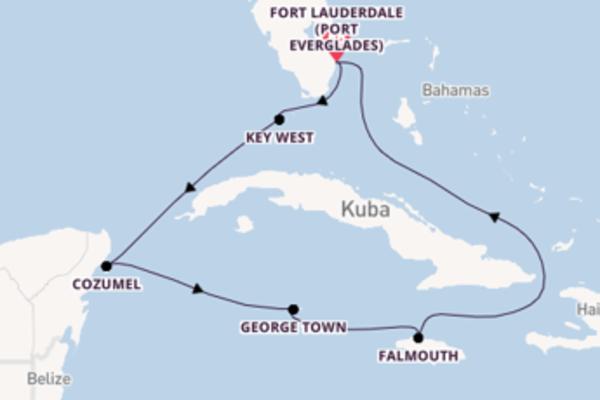 Entdecken Sie Key West auf der Celebrity Reflection