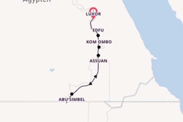 8 Tage Nil Kreuzfahrt
