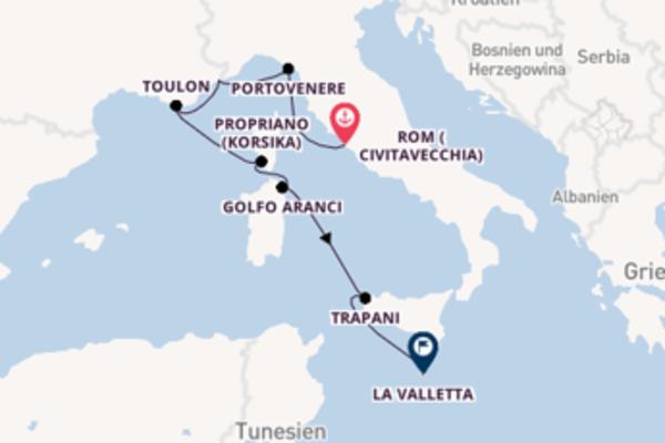Kreuzfahrt mit der Seabourn Encore nach La Valletta