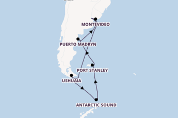 Travelling from Buenos Aires via Port Stanley