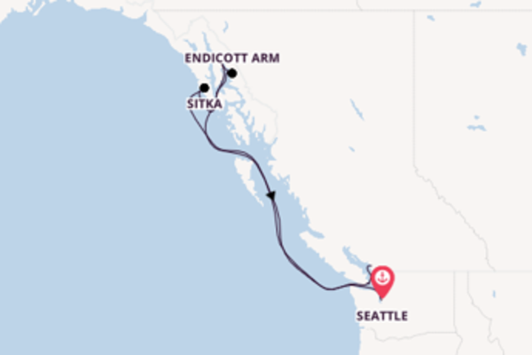 Cruising from Seattle to Vancouver