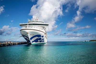 17 Tage auf der Caribbean Princess verbringen