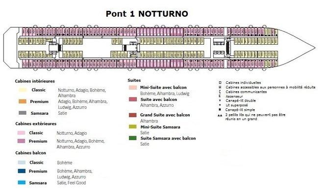 Costa pacifica jusqu 39 20 cabines photos ici for Plans de cabine gratuits