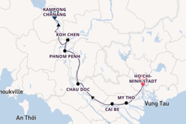 Entdecken Sie Silk Island ab Ho-Chi-Minh-Stadt