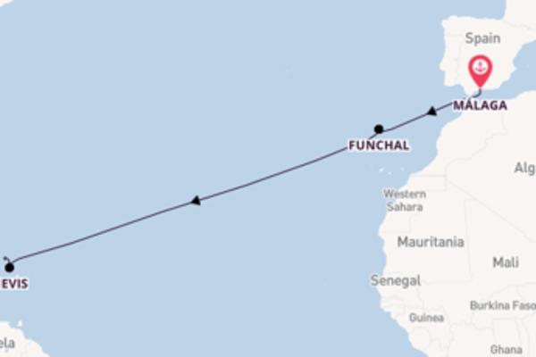 15-daagse reis aan boord van de SeaDream I