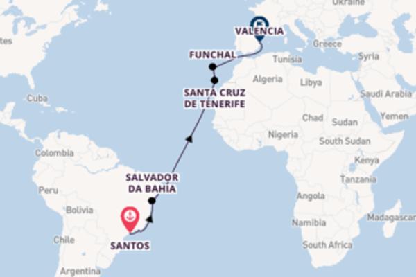 Geniet van het magische Santa Cruz de Tenerife met MSC Cruises