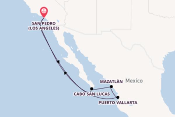 Straordinaria crociera di 8 giorni verso Cabo San Lucas a bordo di Discovery Princess