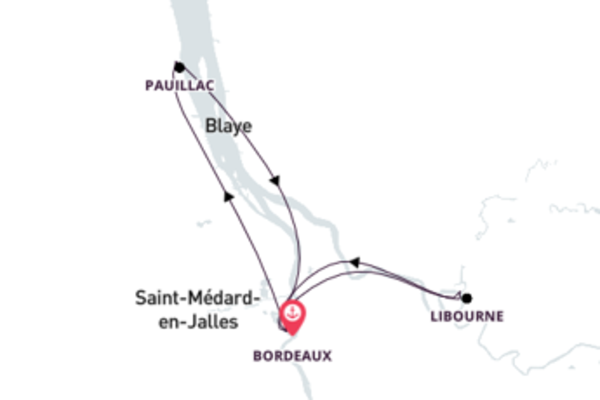 Sailing from Bordeaux with the Cyrano de Bergerac