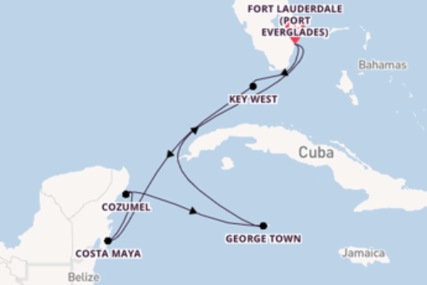 Trip with Celebrity Cruises from Fort Lauderdale