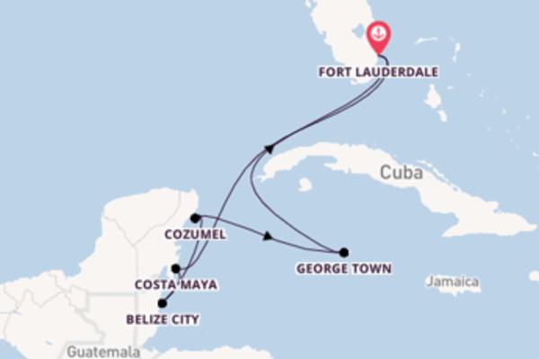 8-daagse droomcruise vanuit Fort Lauderdale