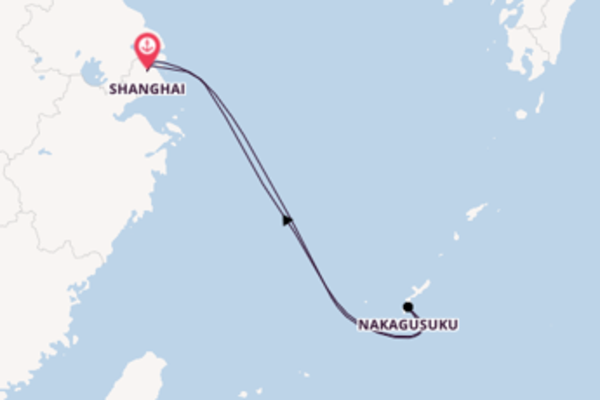 5 day journey from Shanghai