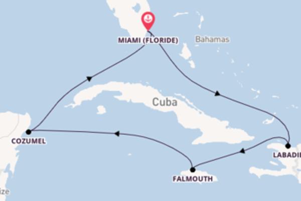 Joyeuse croisière avec Royal Caribbean pendant 8 jours