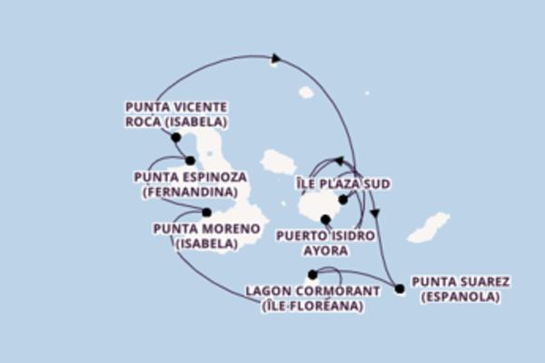 Croisière de 8 jours vers Baltra avec Celebrity Cruises